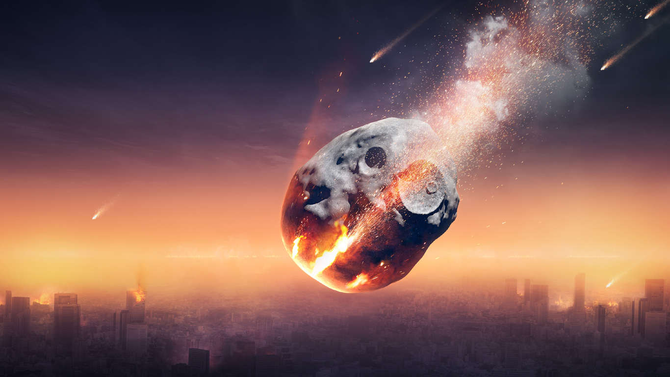"""In Hollywood-Katastrophenfilmen wie """"Armageddon"""" wird die Erde immer von großen Asteroiden bedroht. Warum sollten wir uns Sorgen um kleinere NEOs machen?"""