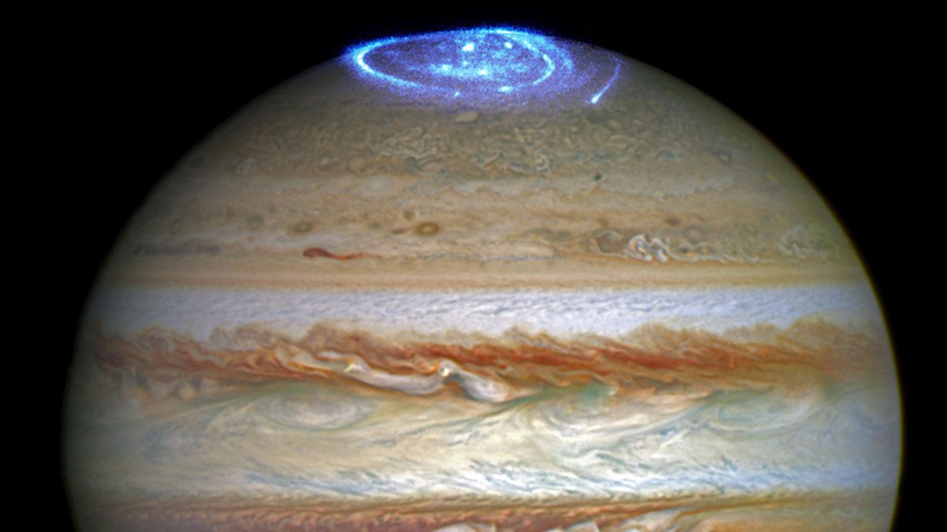 Polarlichter Jupiter
