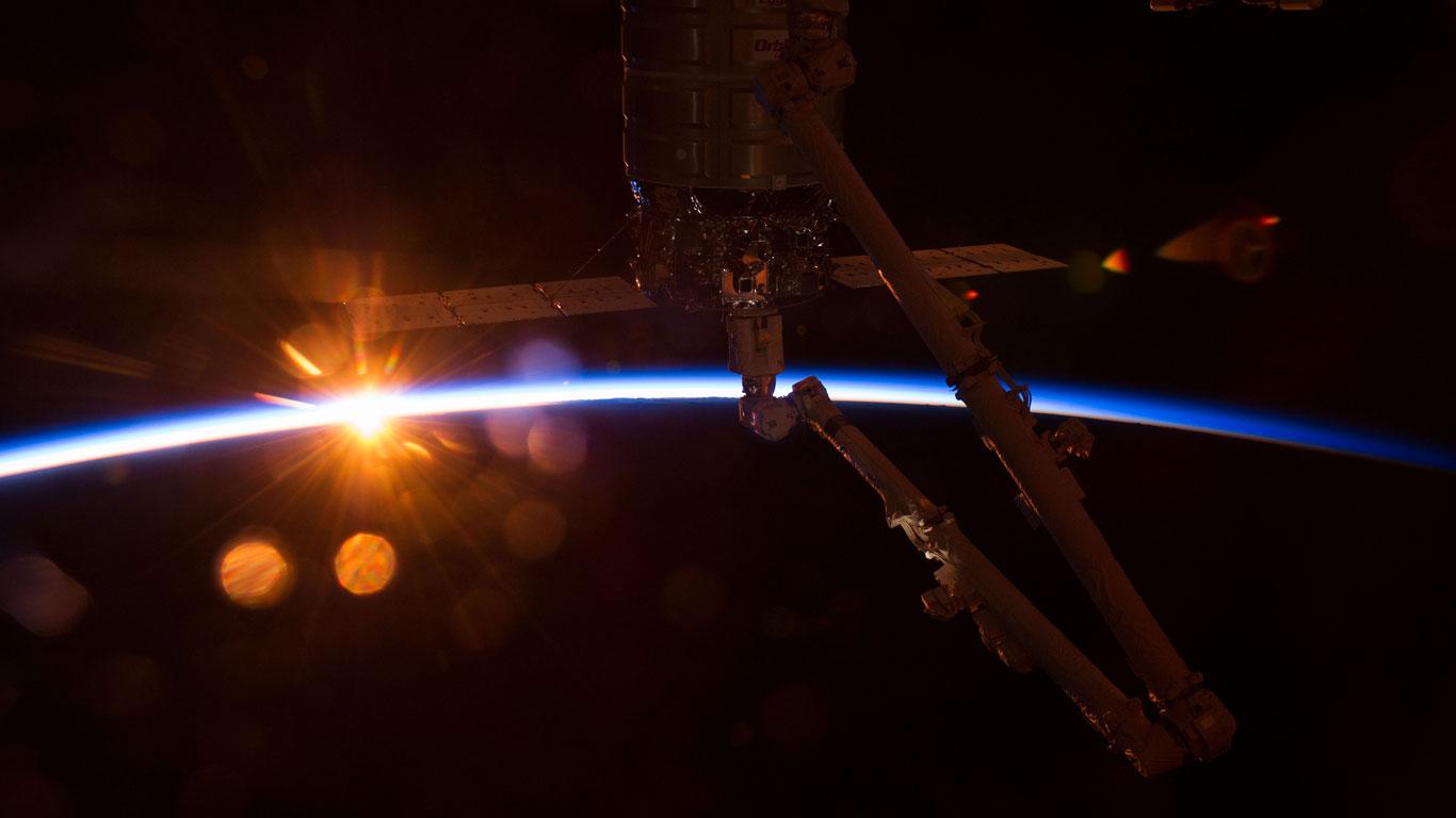Cygnus bei Sonnenaufgang