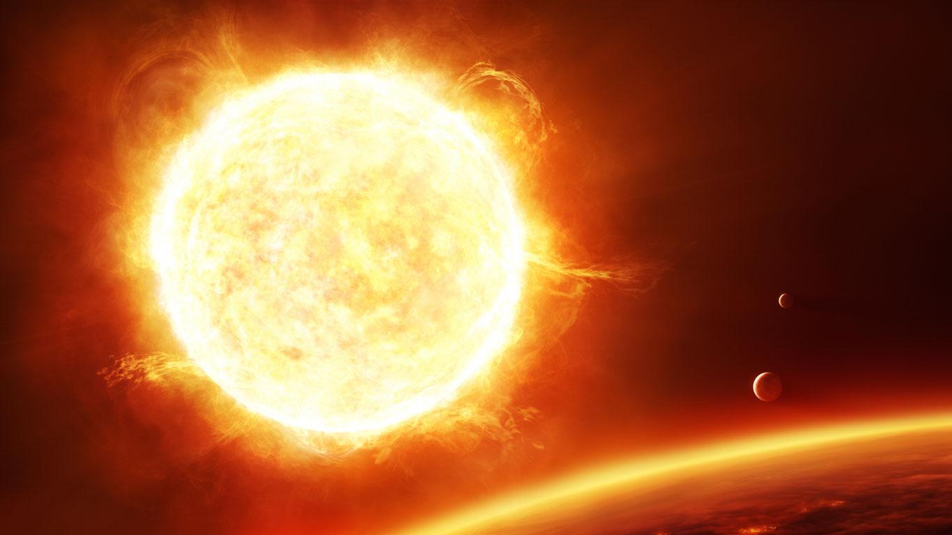 Sonne – Der kolossale Stern