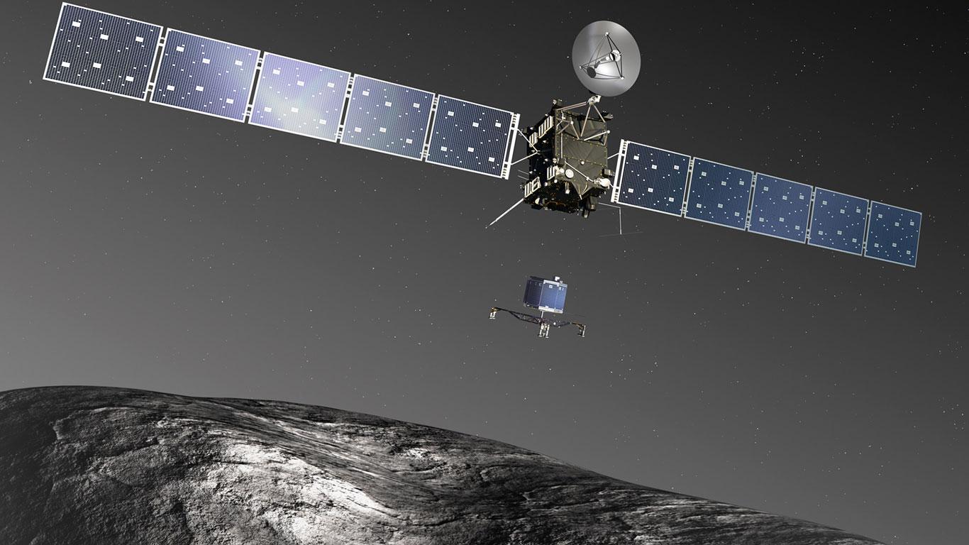 Rosetta in den Tiefen des Sonnensystems