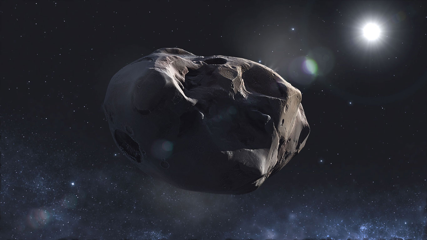 Der Komet 67P/Churyumov-Gerasimenko