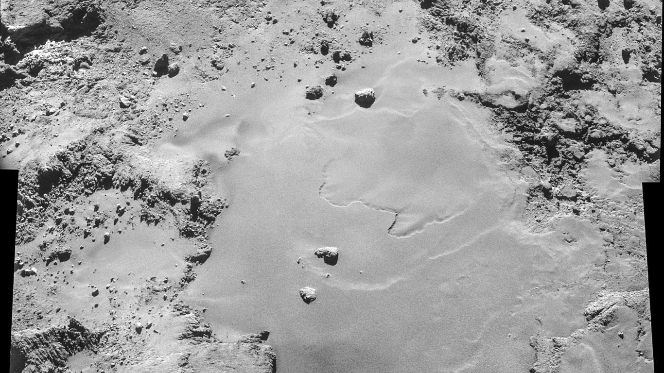Der Komet am 26. Oktober 2014