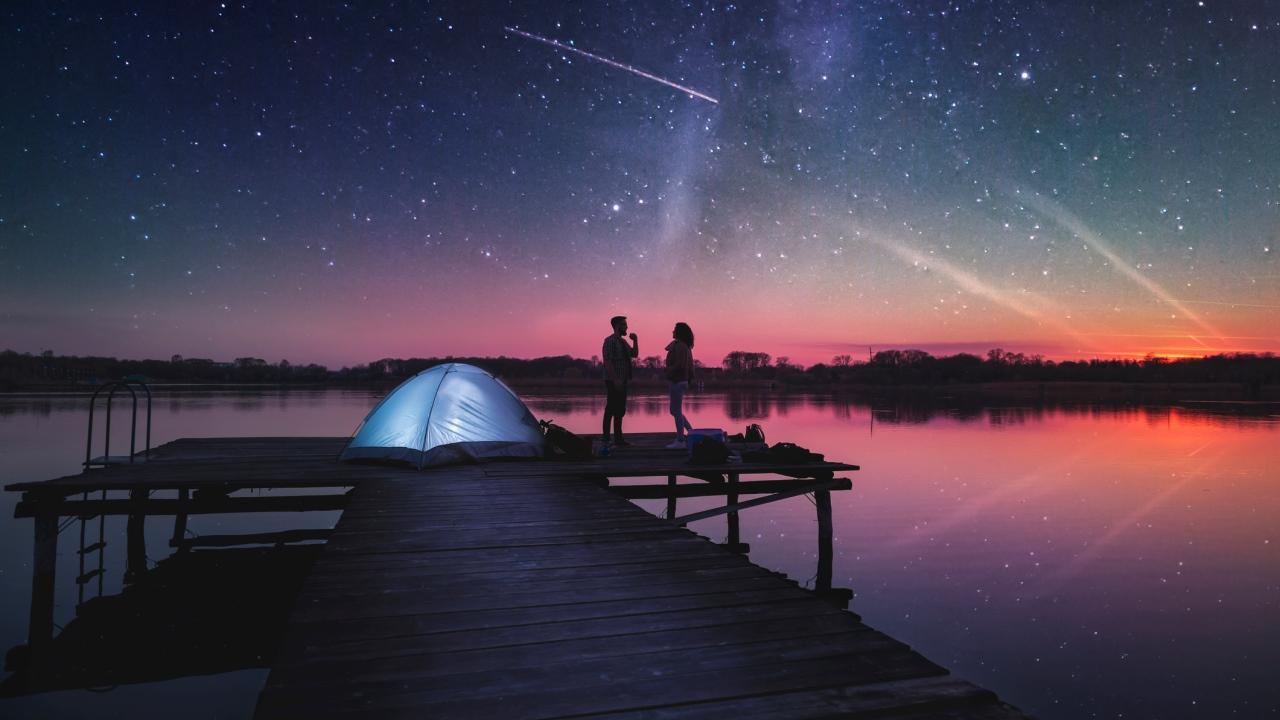 13./14. Dezember: Geminiden Sternschnuppennacht