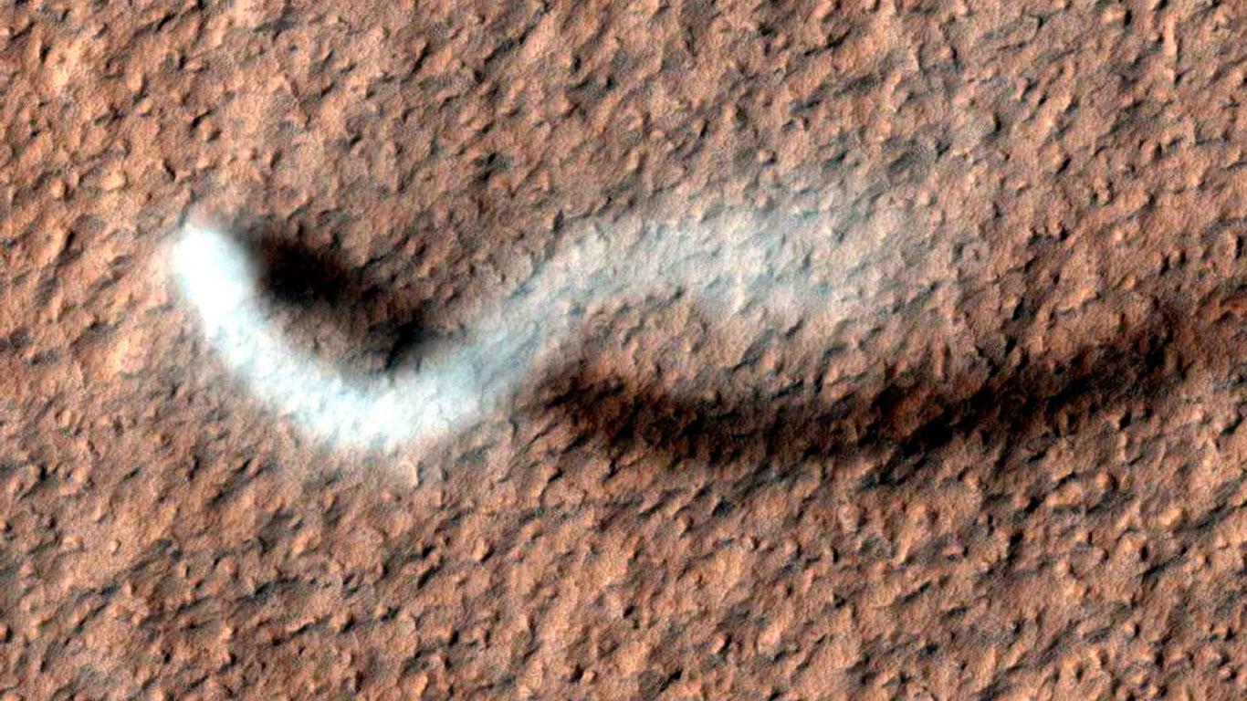 Staubteufel auf dem Mars
