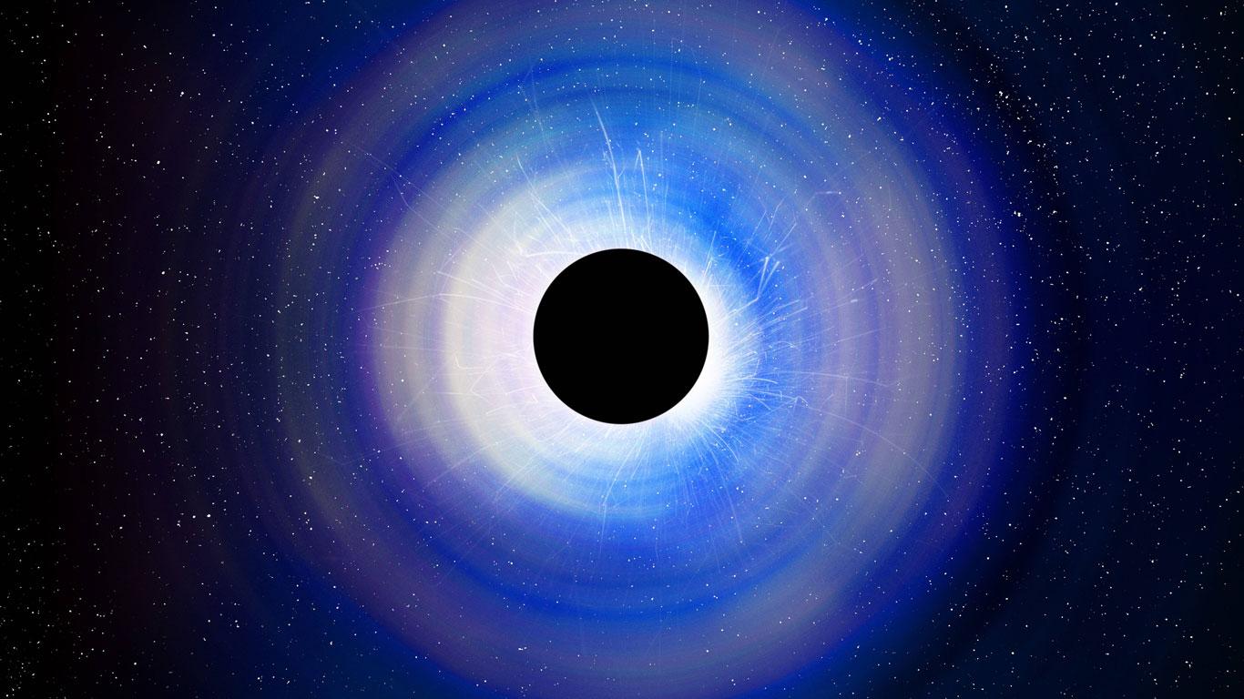 Das Schwarze Loch Im Weltall