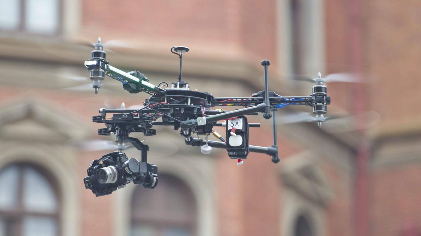 Drohnen mit Touchscreen-Navigation
