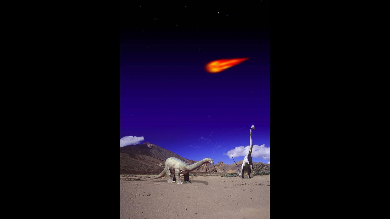 Waren schon Dinosaurier außerirdisch?