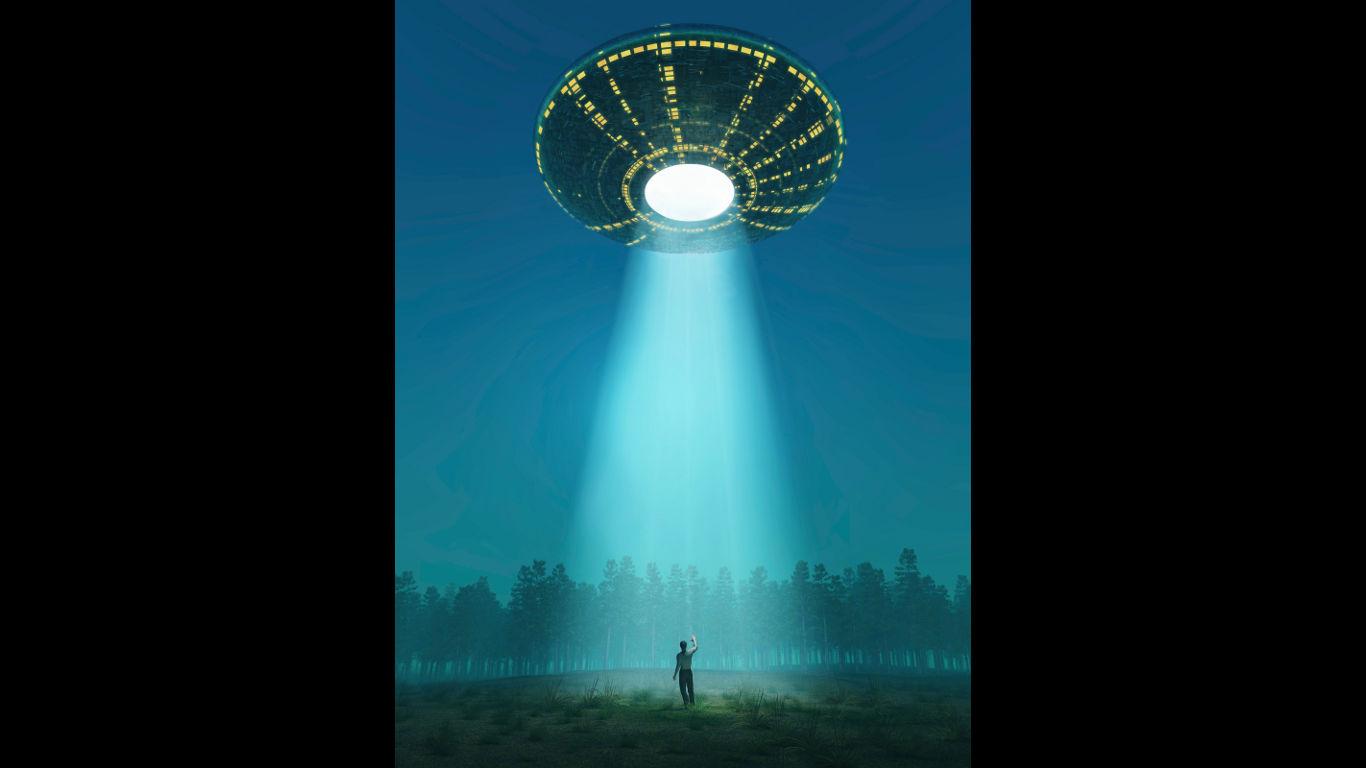 Von Aliens entführt ...