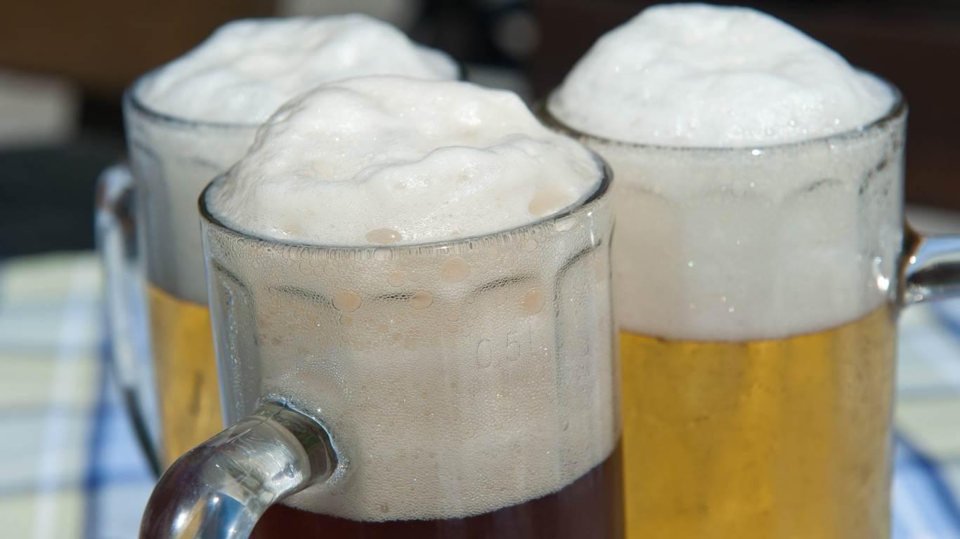 Aromatherapie mit Bier