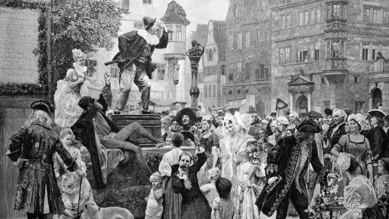 Der Hanswurst zwischen Spaß und Zensur