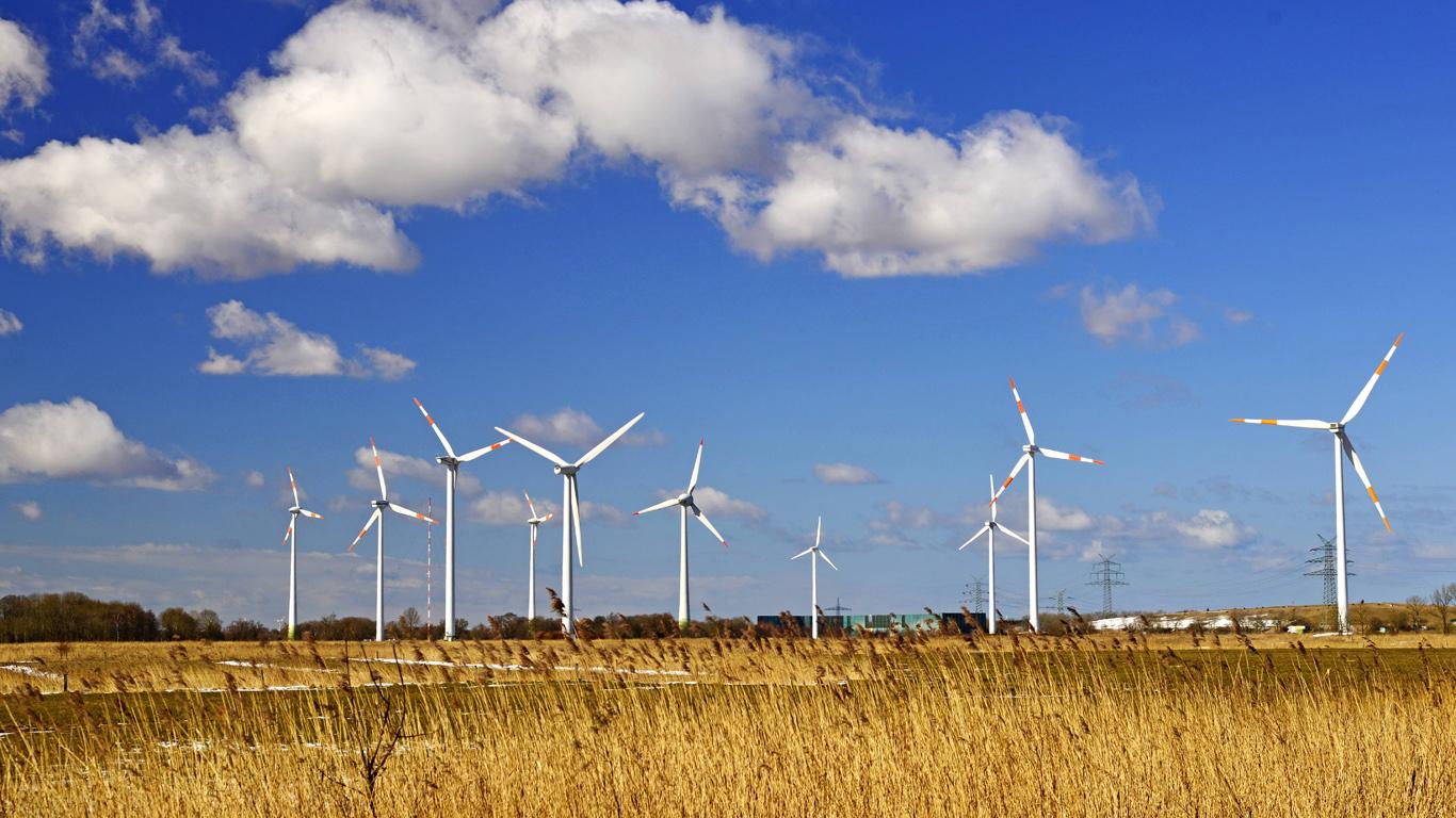Onshore Windkraftanlagen