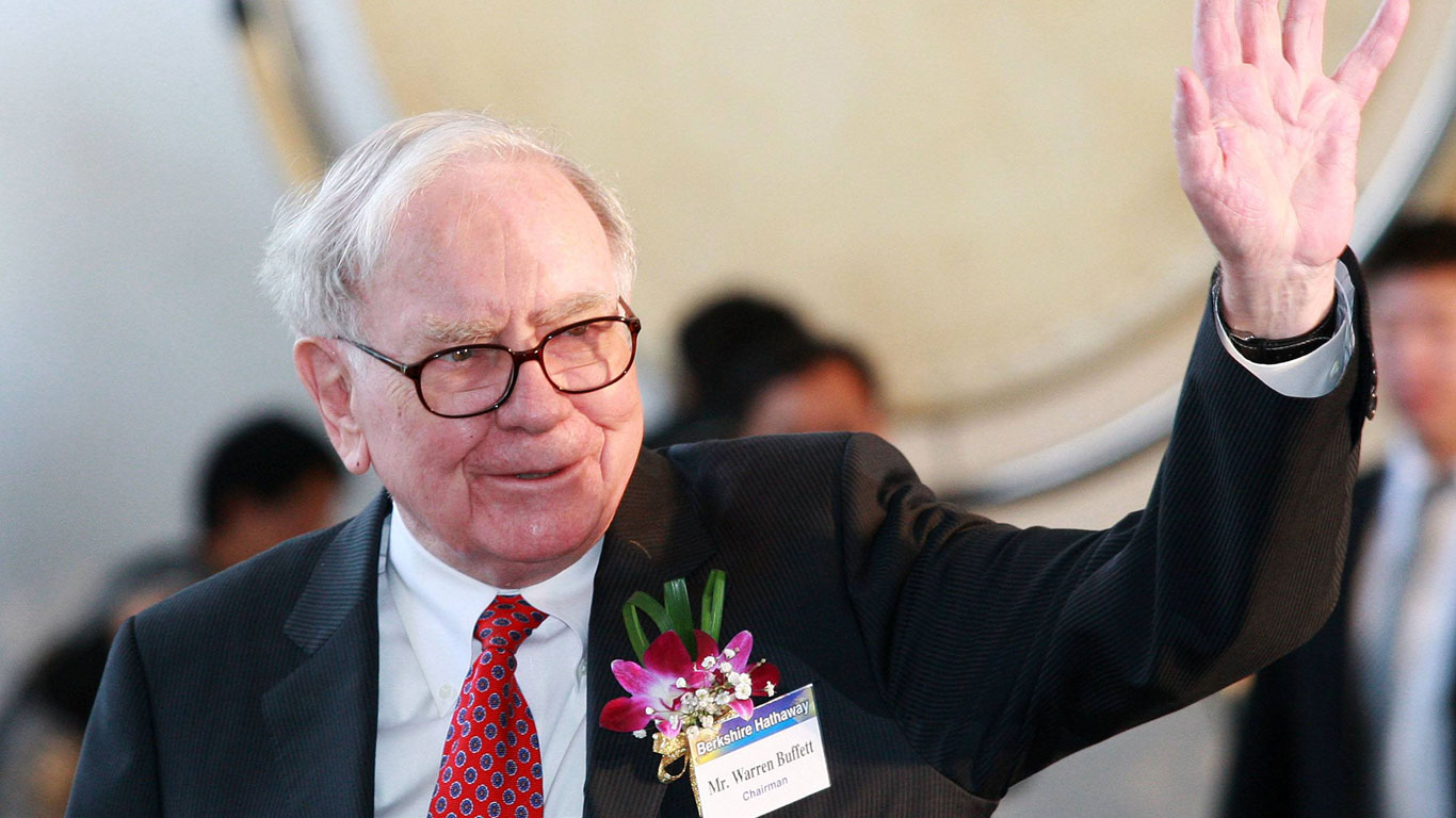 Platz 3: Warren Buffett