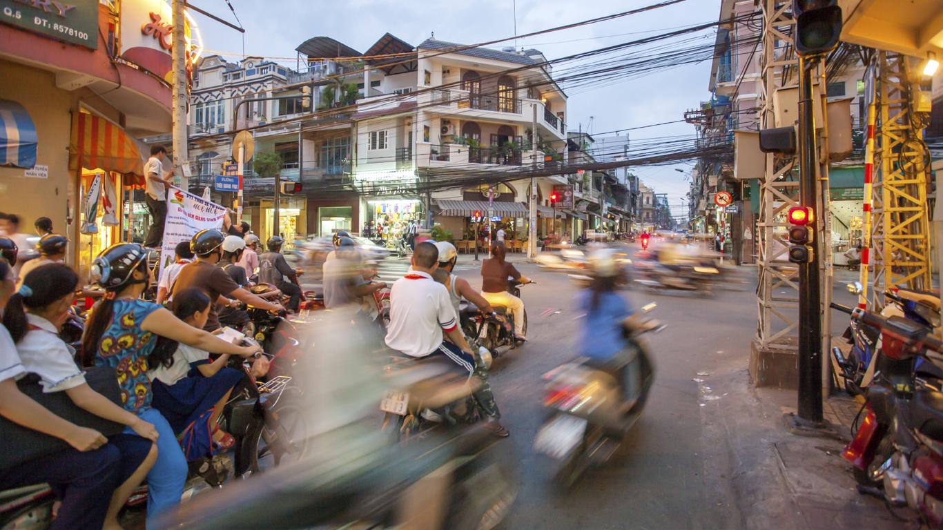 Platz 6: 1,59 Euro in Ho-Chi-Minh Stadt