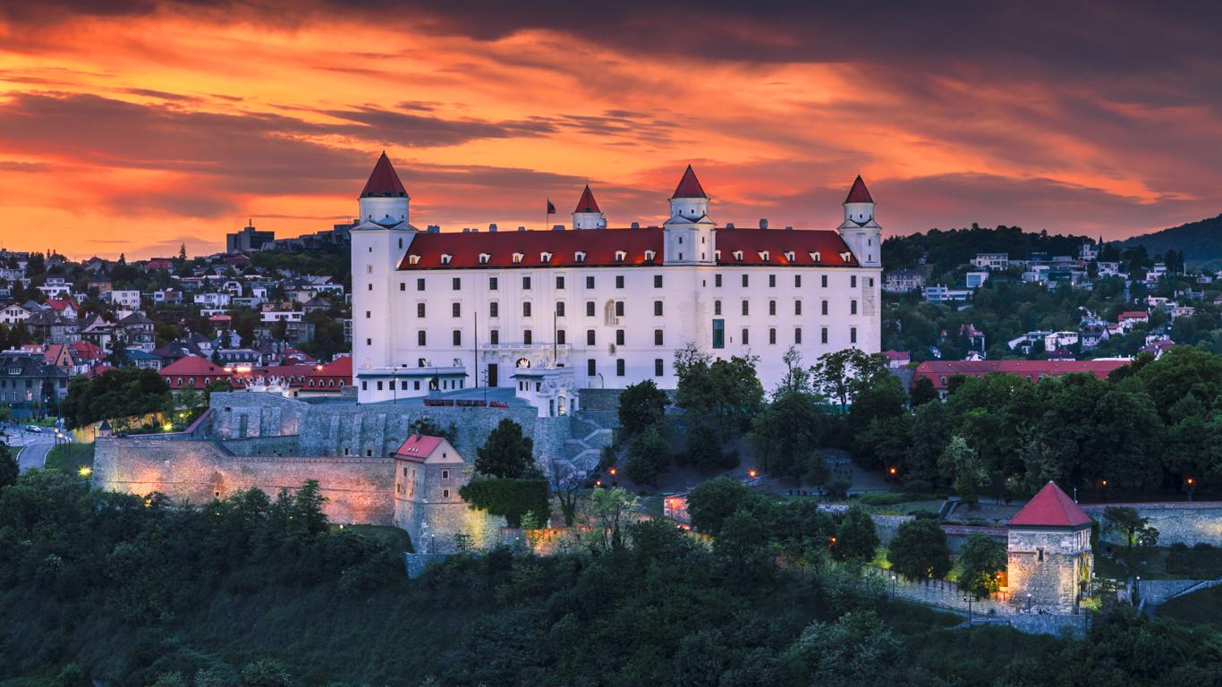 Platz 3: 1,51 Euro in Bratislava