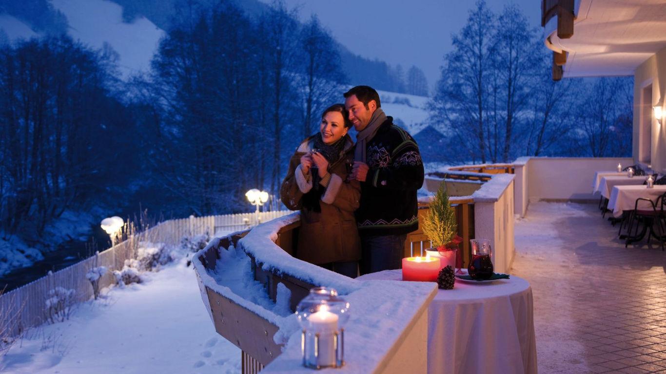 Romantik unterm Weihnachtsbaum