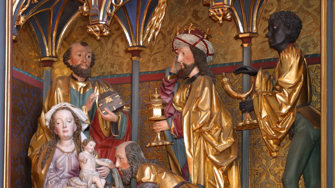 Die Heiligen Drei Könige beenden die Wartezeit