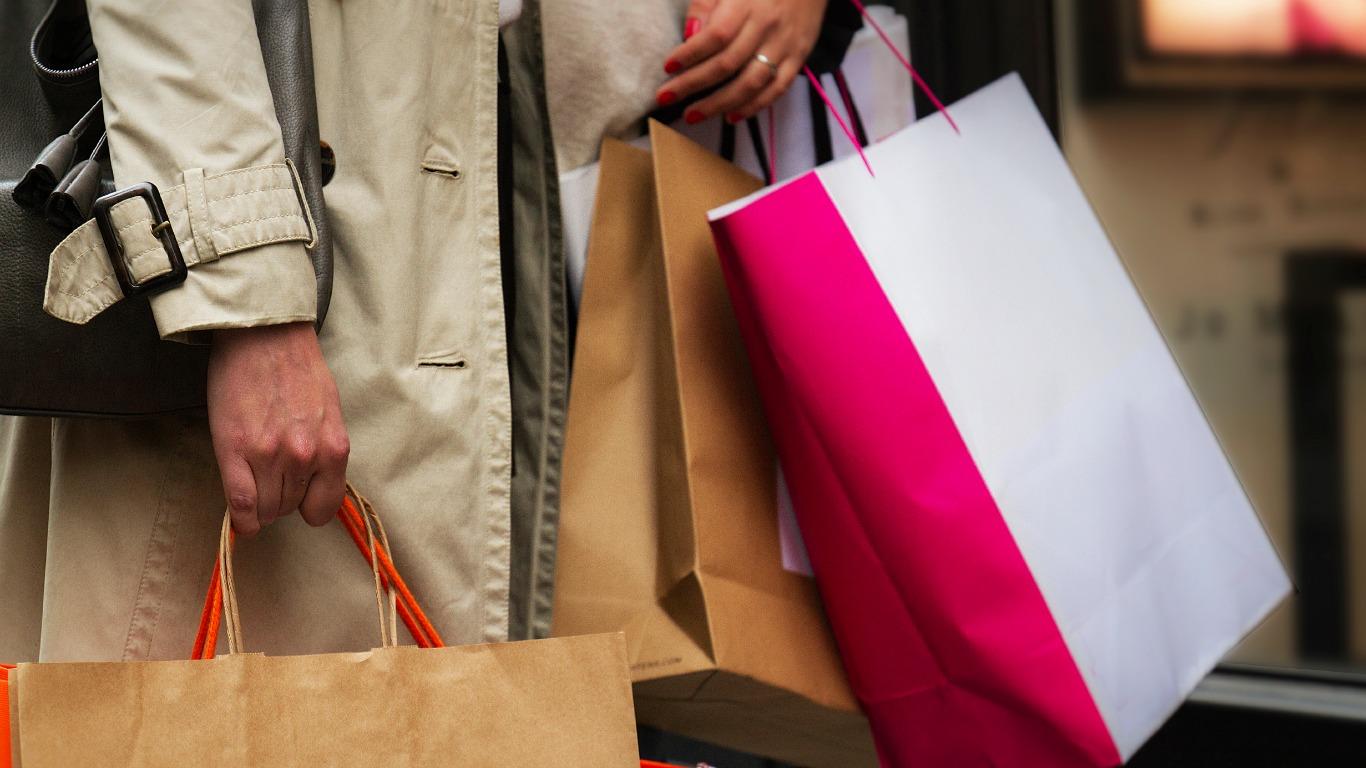 Shoppen gegen Liebesfrust