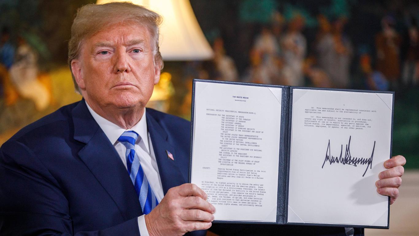 Trumps Austritt aus dem Iran-Atomabkommen