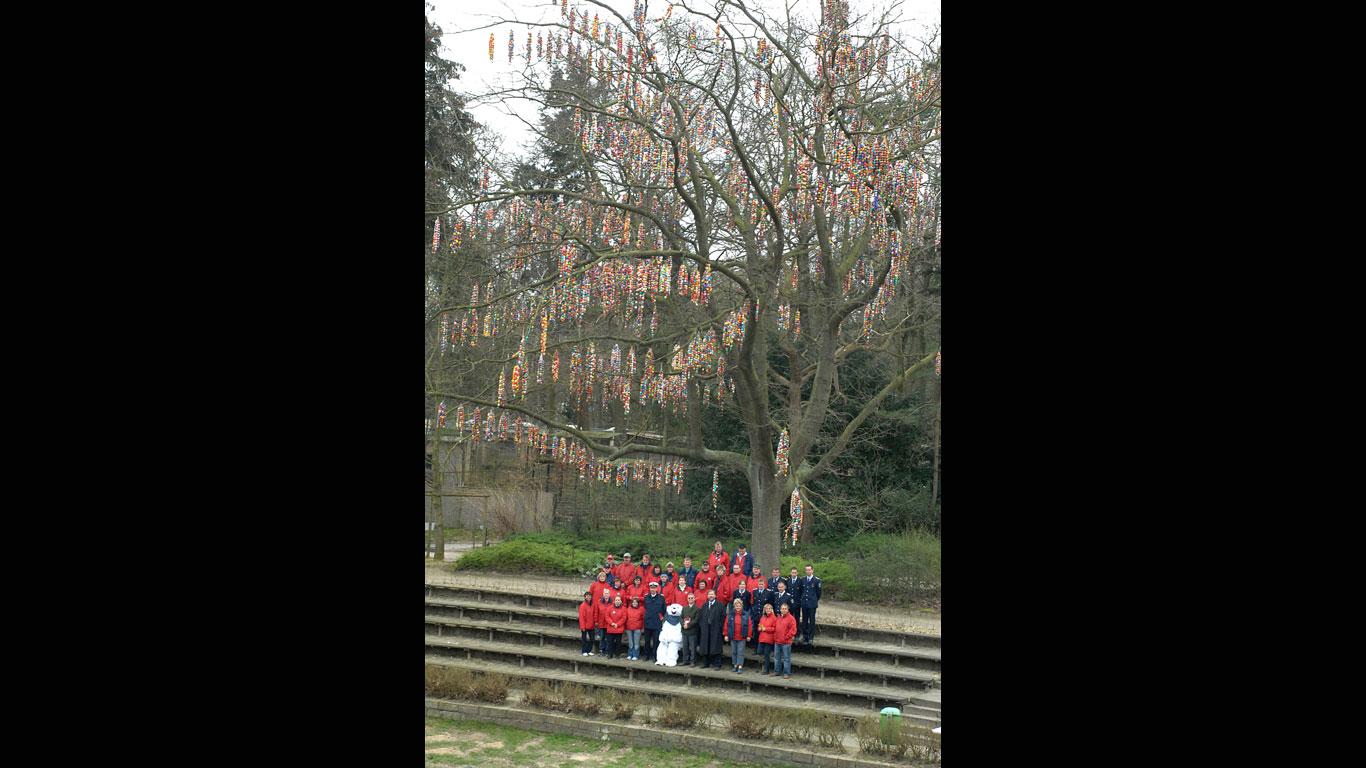 Größter Ostereier-Baum