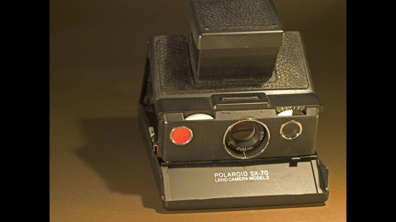 Polaroid-Sofortbildkamera