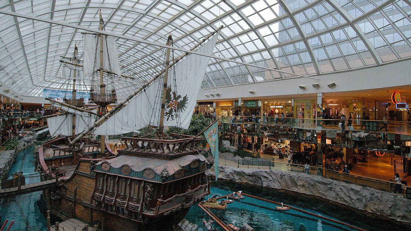 West Edmonton Mall in Alberta, Kanada