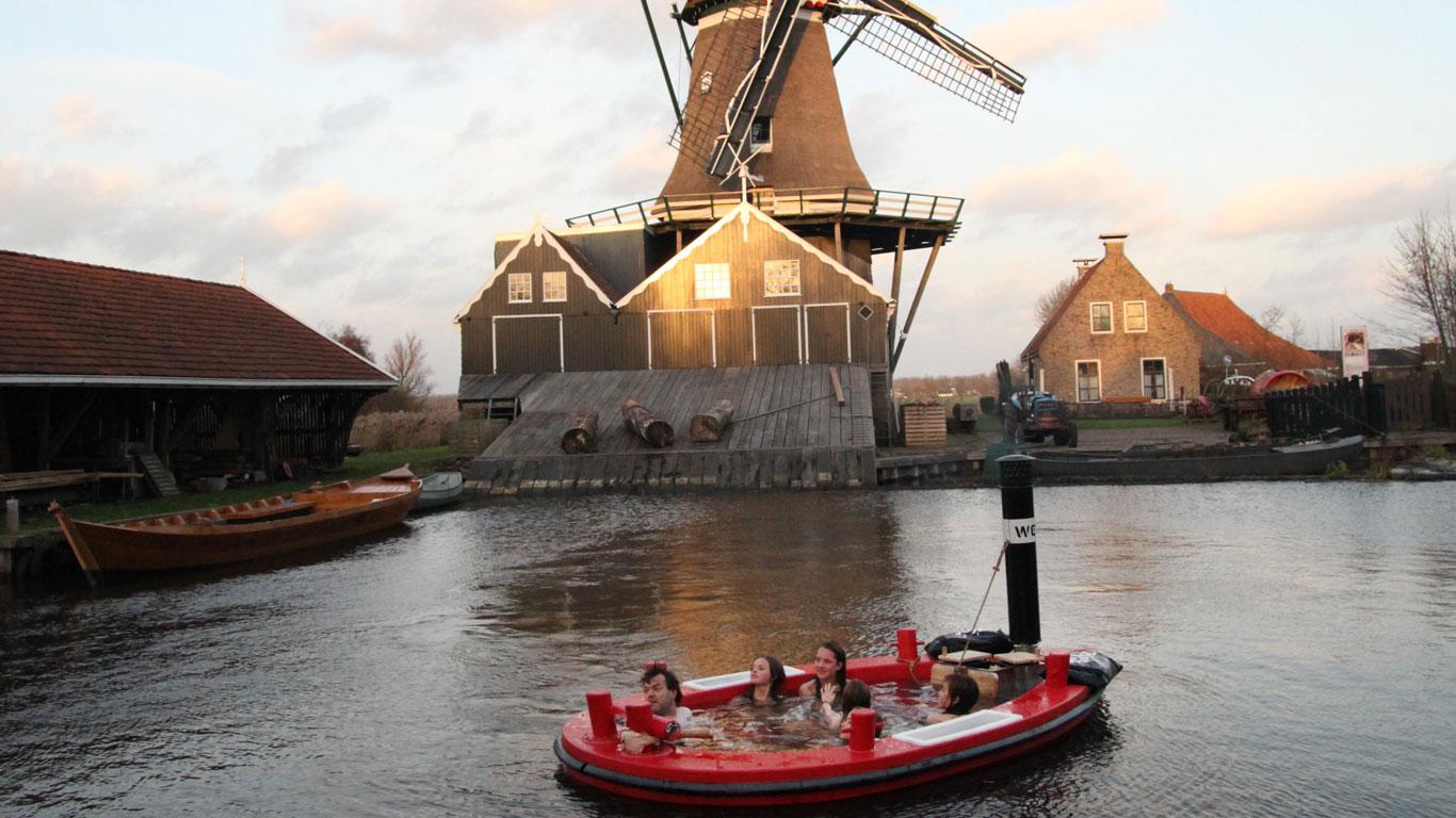 Im Whirlpool durch Rotterdam schippern