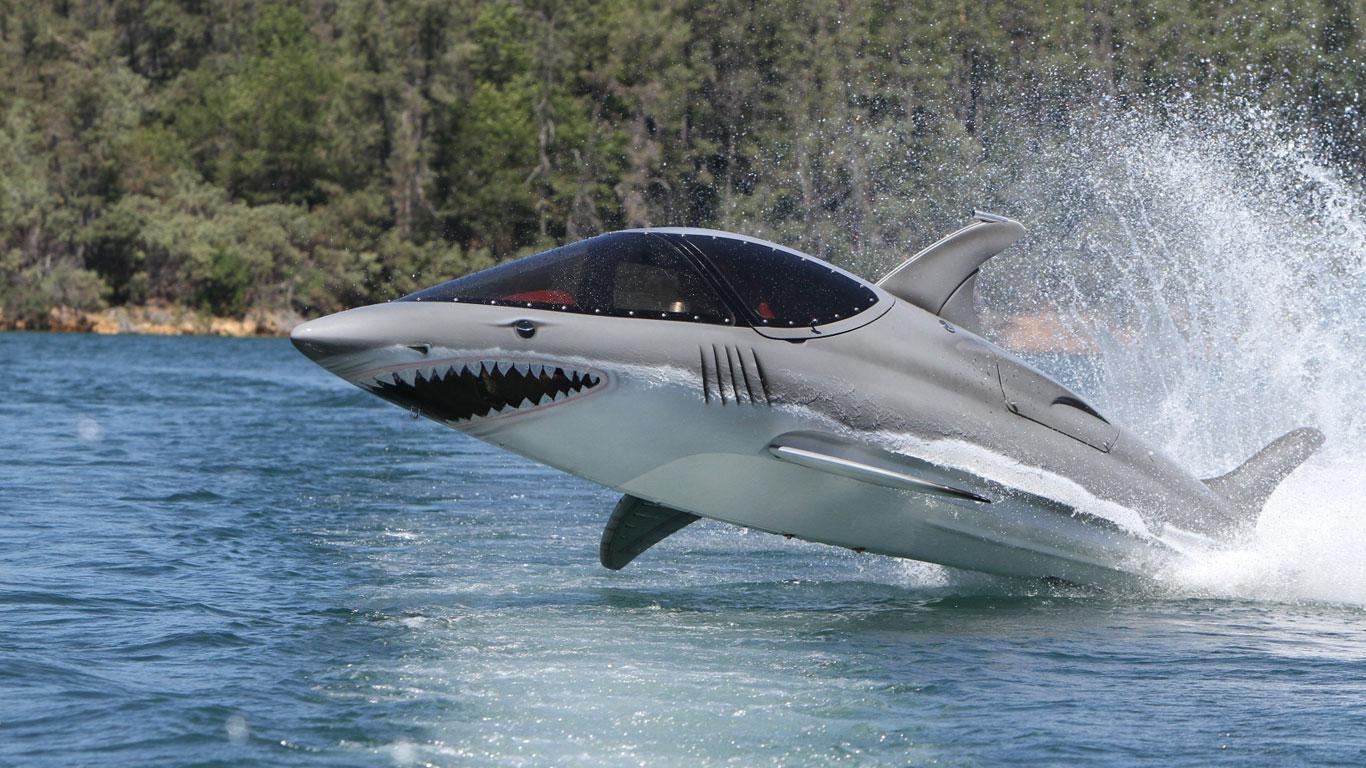 Mit dem Haifisch von A nach B