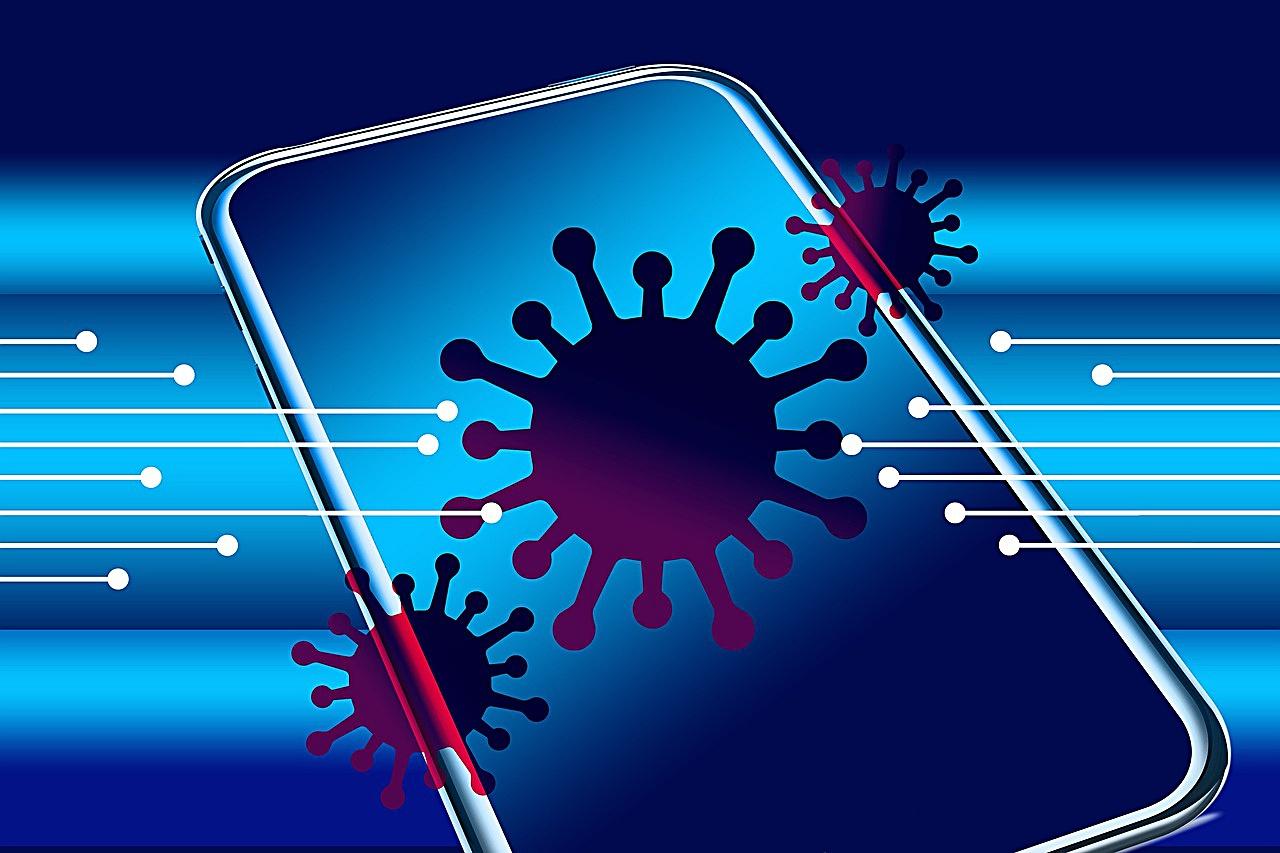Virenschleuder Handy