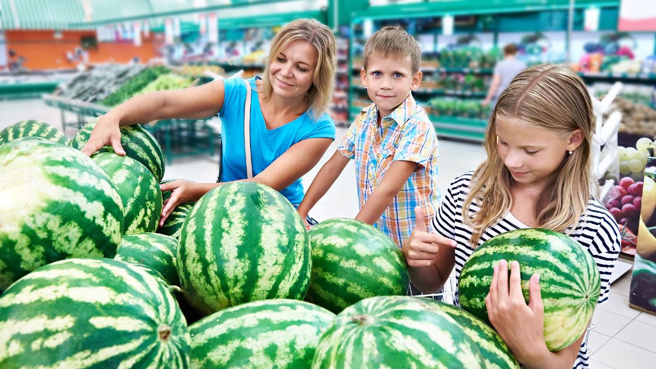 Hybridmelonen eignen sich nicht so gut