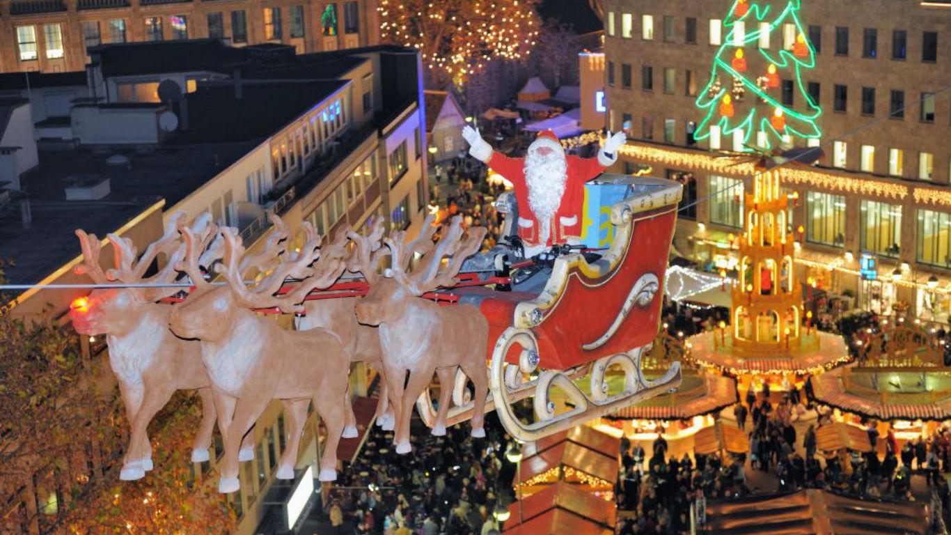 Schlitten-Spaß in Bochum