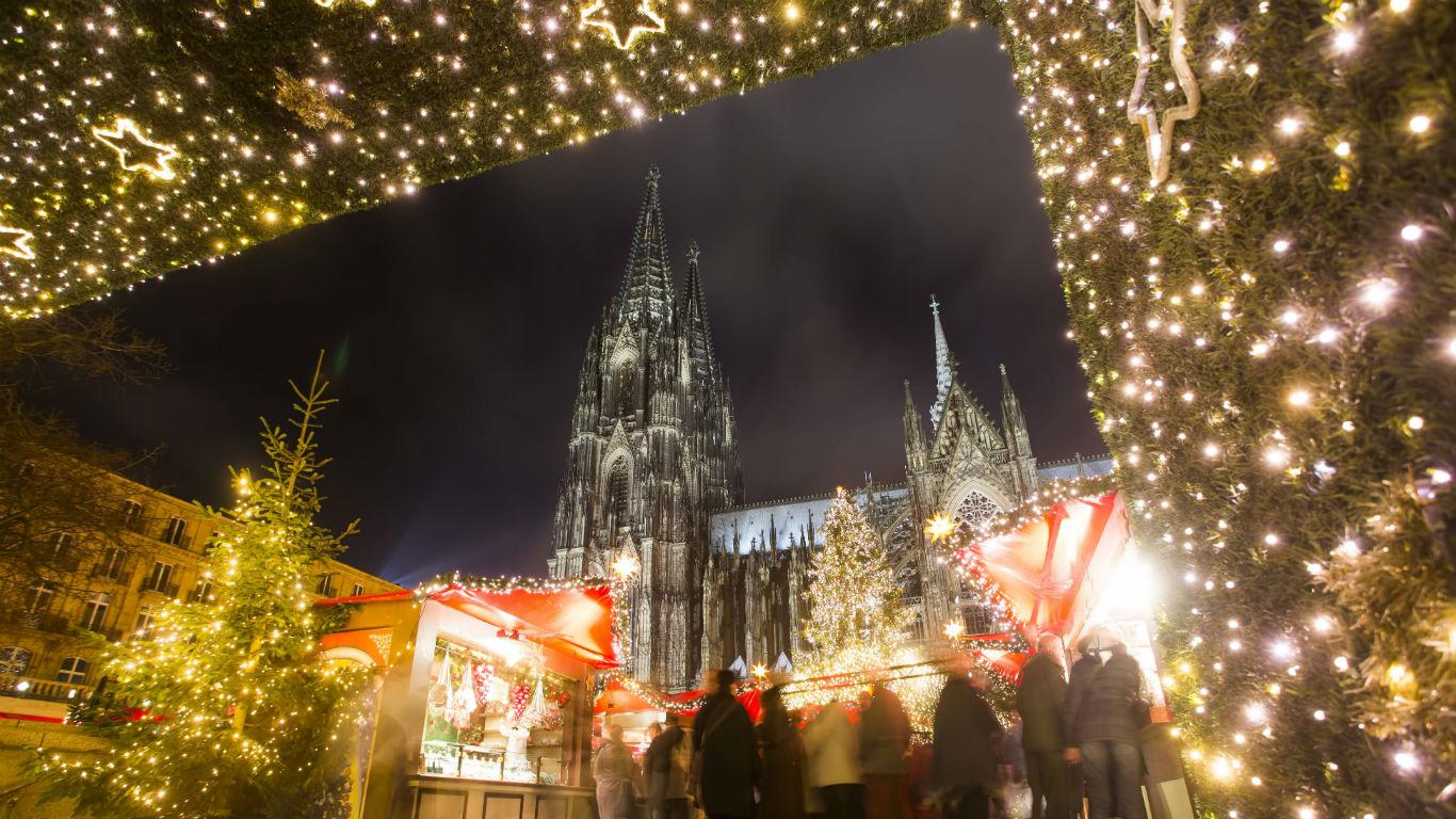 Beeindruckende Domkulisse in Köln