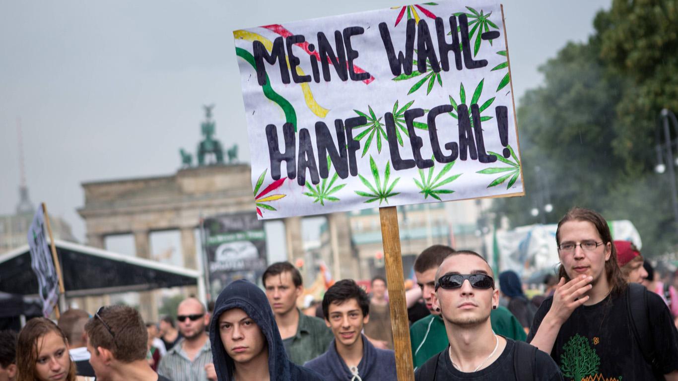Законы германии марихуана как вырастить клубнику из семян гидропоника