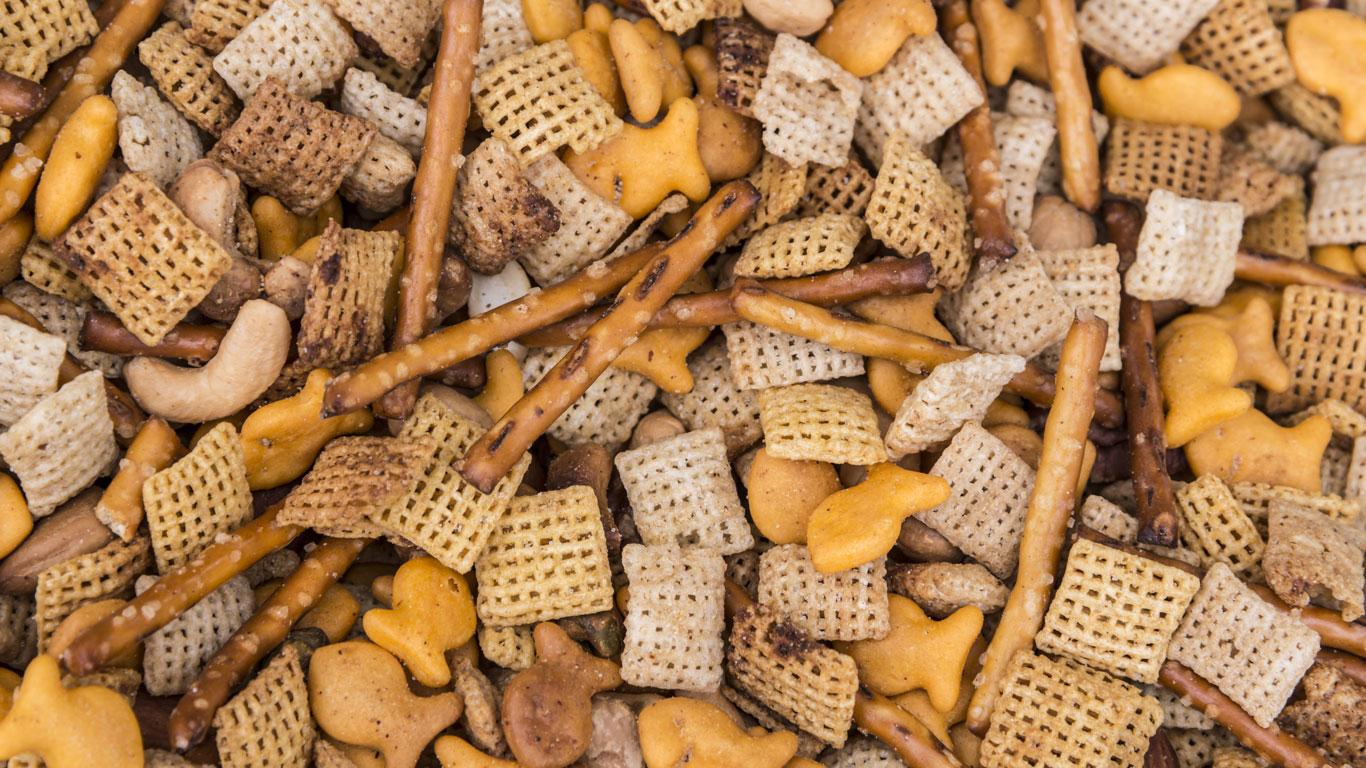 Blätterteig, Frittierfett, Margarine, Cracker, Pasteten, Müsliriegel, Chips, Pommes