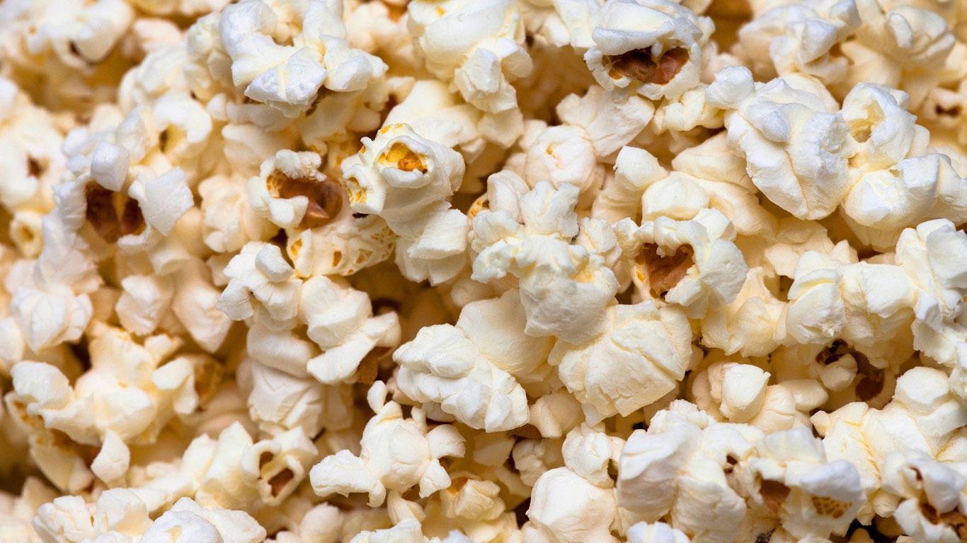 Mikrowellen-Popcorn, Backmischungen