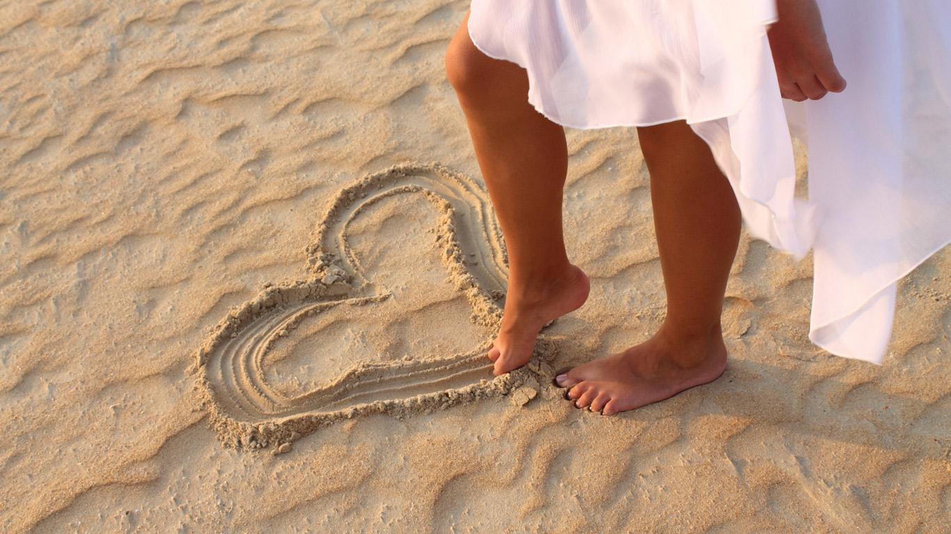 Sich selbst lieben, glücklich und gesund sein