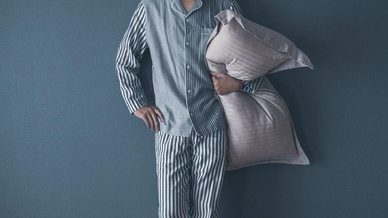 Schutzbezüge und Schlafanzug