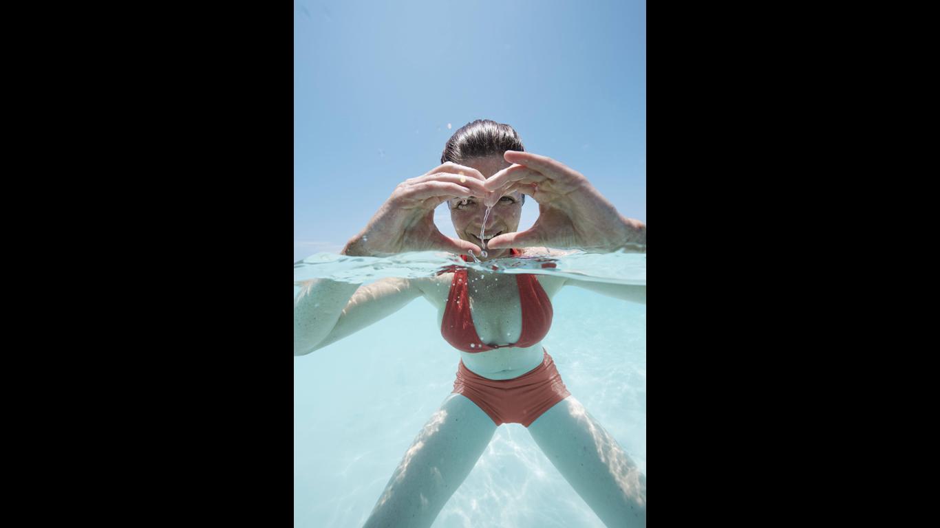 Lässt Wasser das Herz in Zeitlupe schlagen?