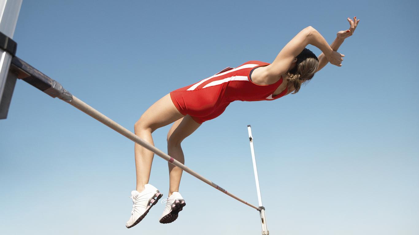 Wie hoch kann ein Mensch springen?