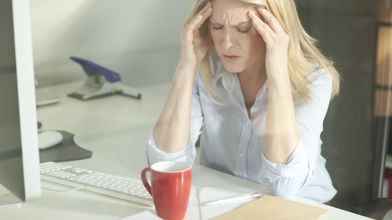 Migräne – Schmerzstufe 8: