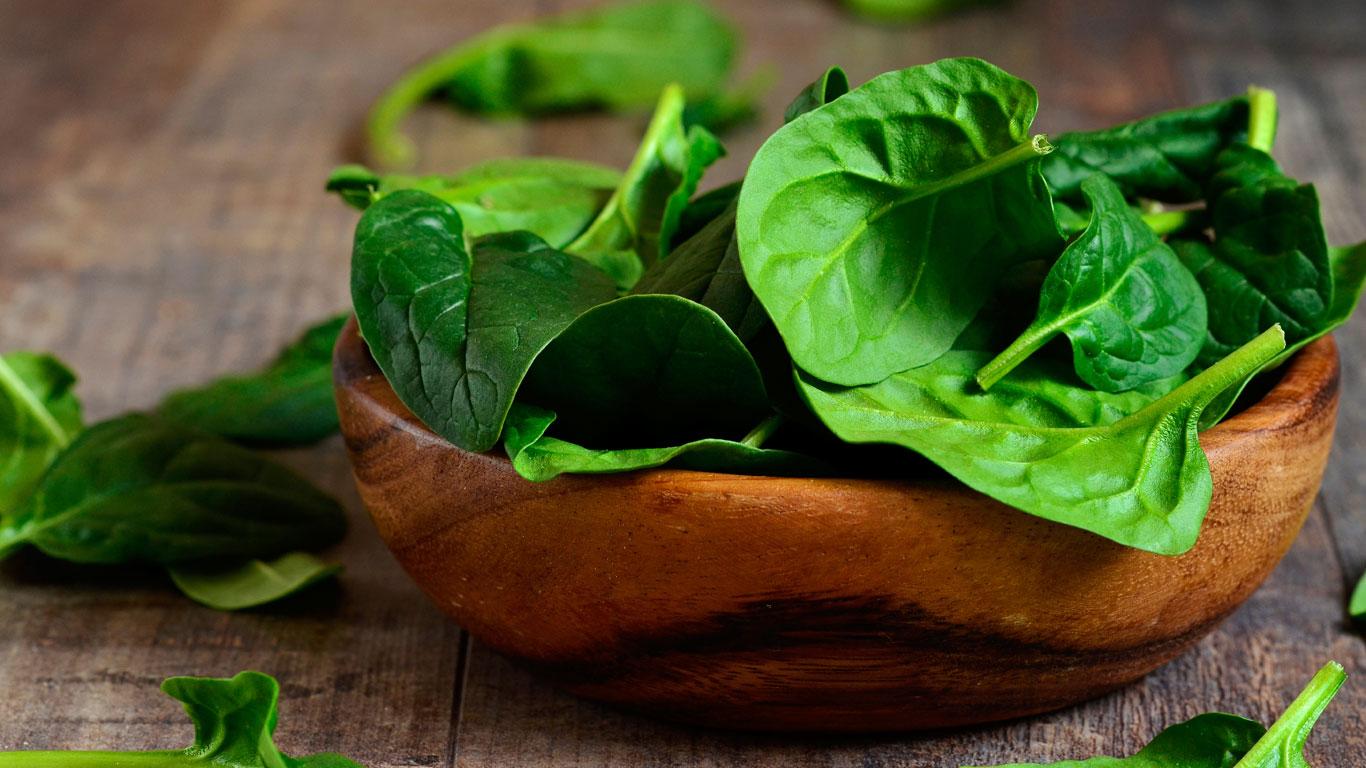 Mythos: Spinat