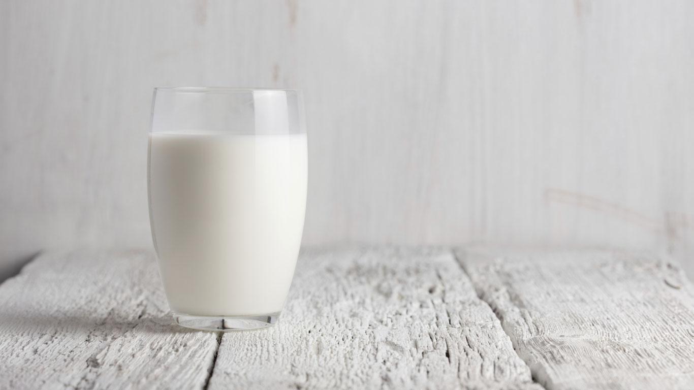 Milch ist gesund