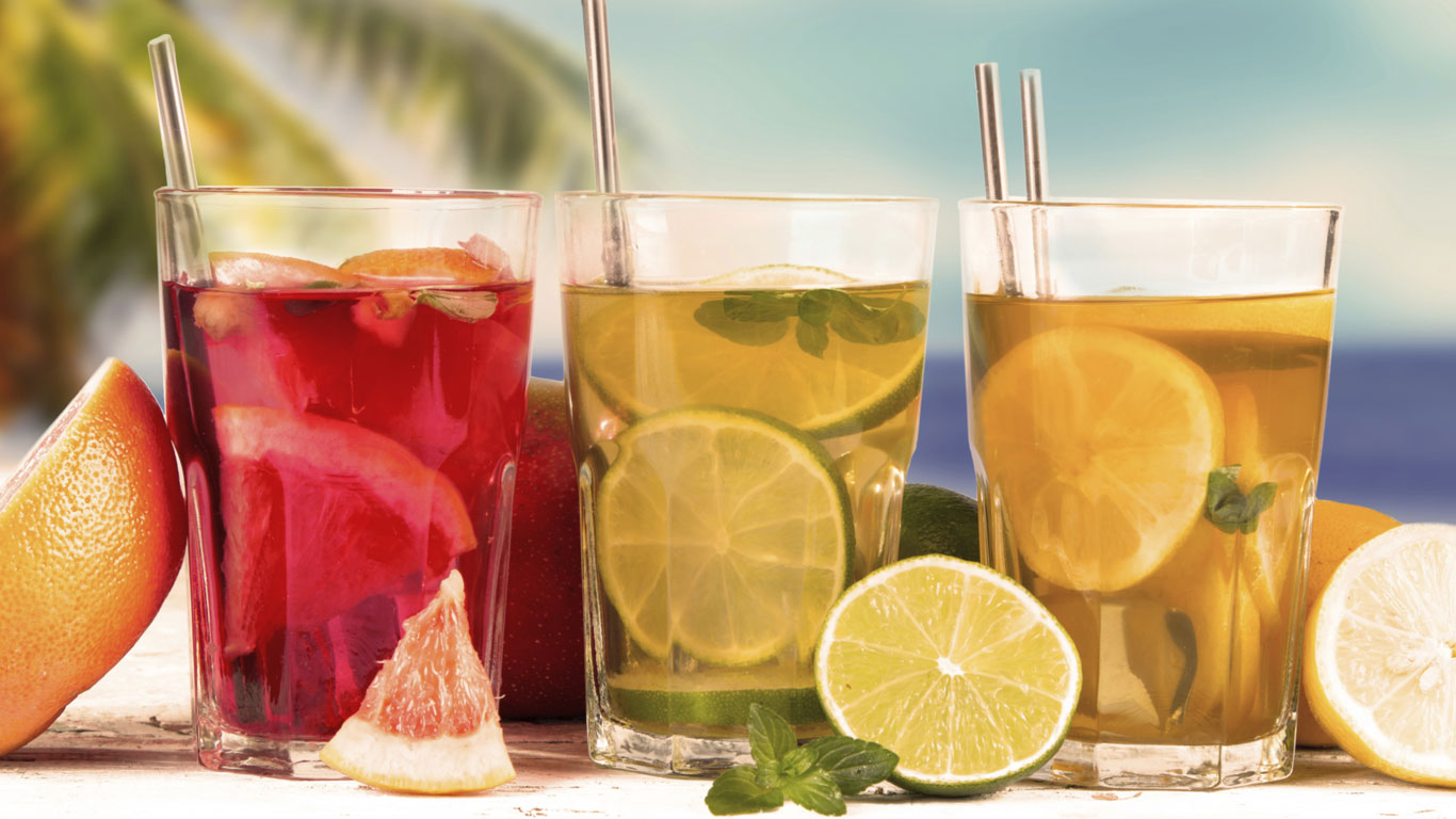 Kalte Drinks erfrischen am besten