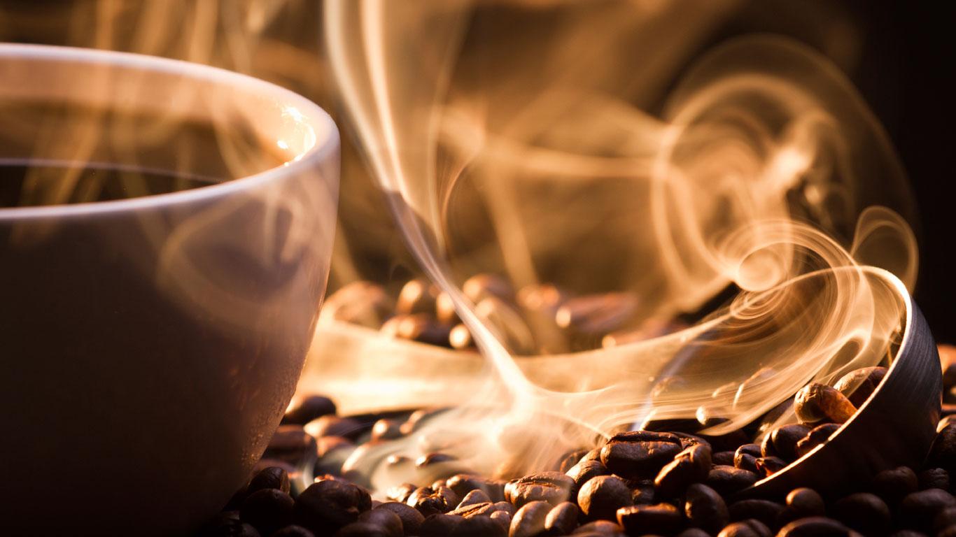 Kaffee macht wach