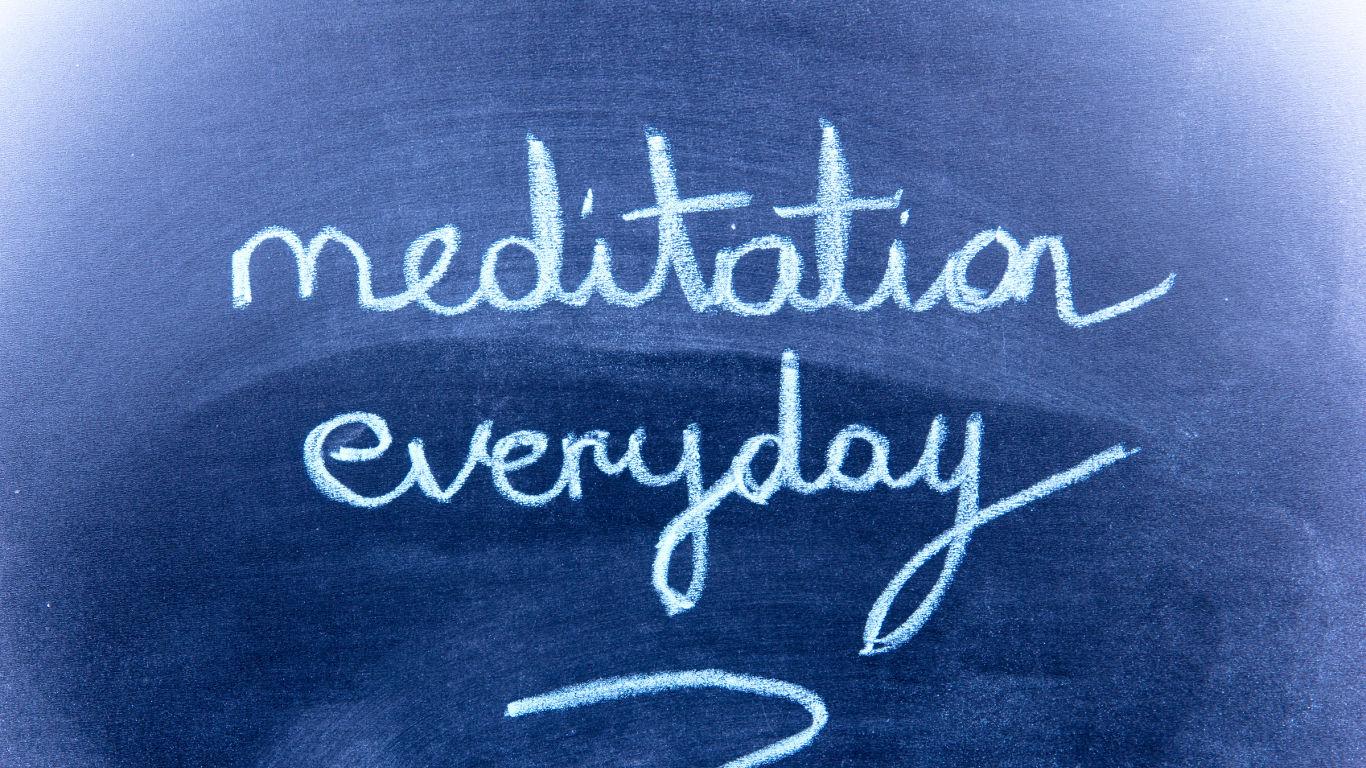 Meditation zur Routine machen