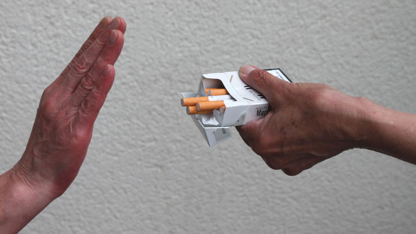 Es gibt keinen Grund mehr fürs Rauchen