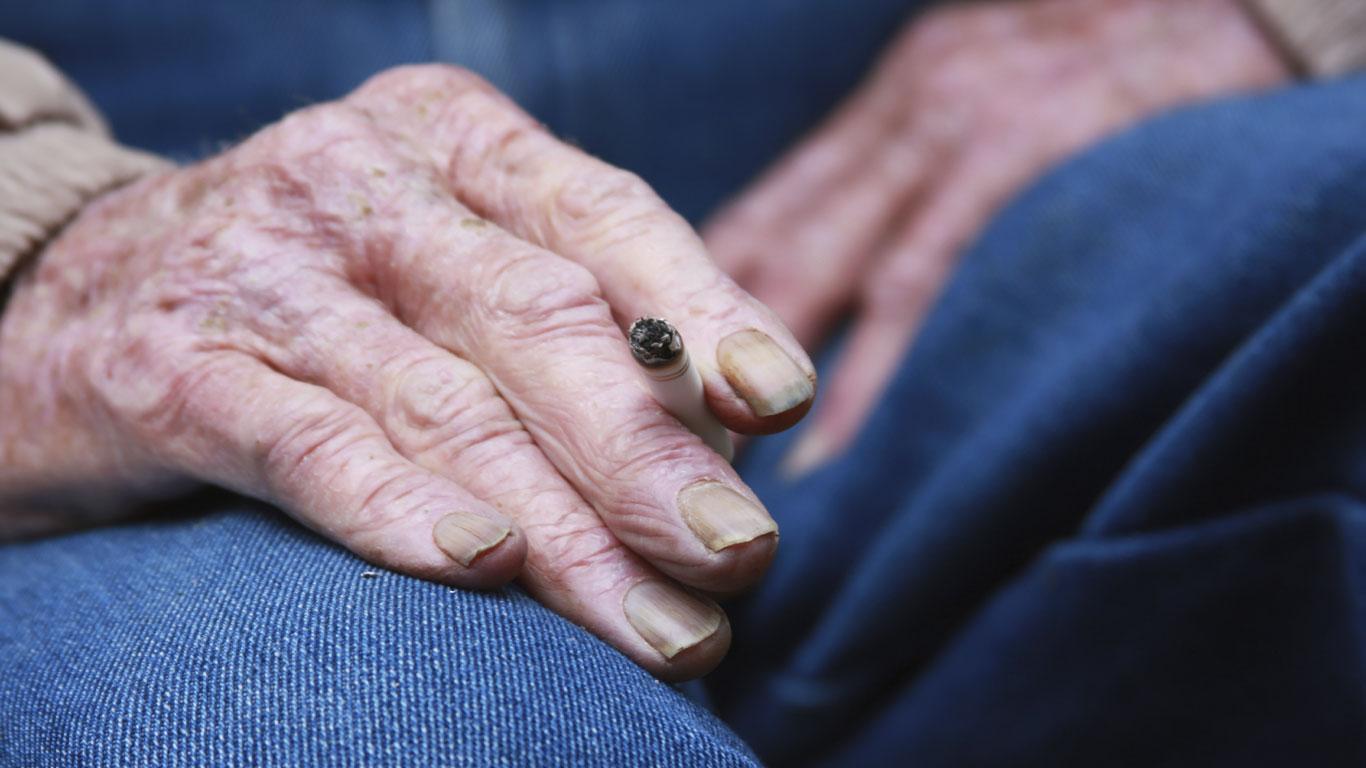 Die Haut altert schneller