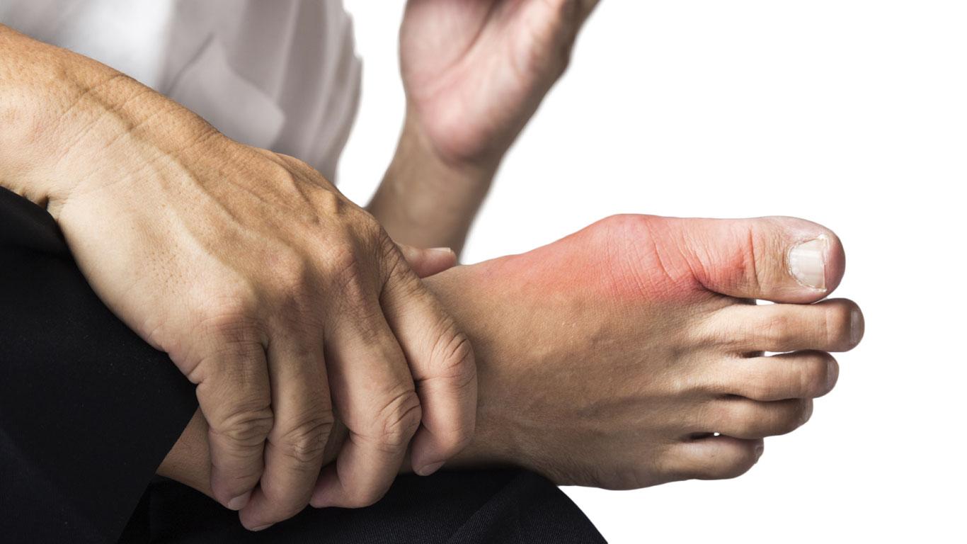 Im Alter kann das Bein absterben