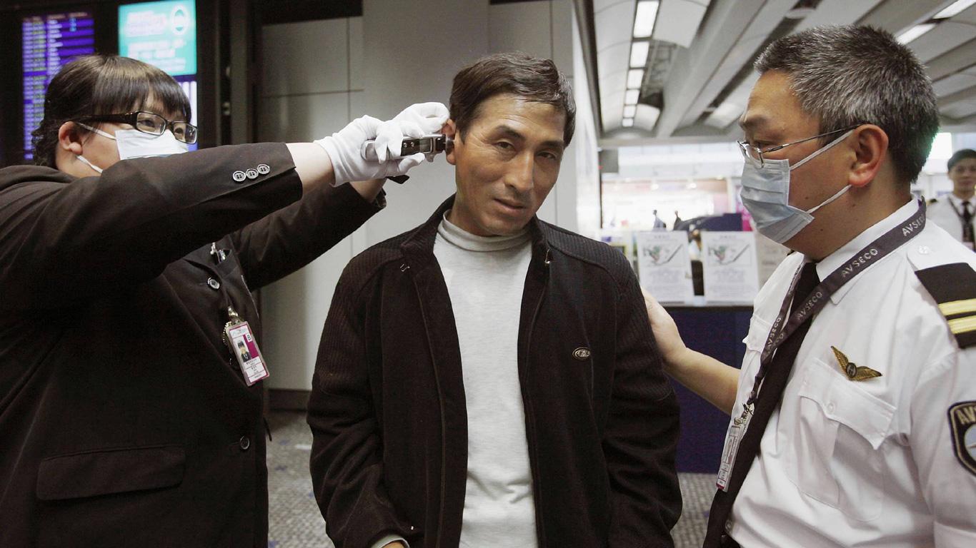 Schweinegrippe: In 18 Tagen um die Welt