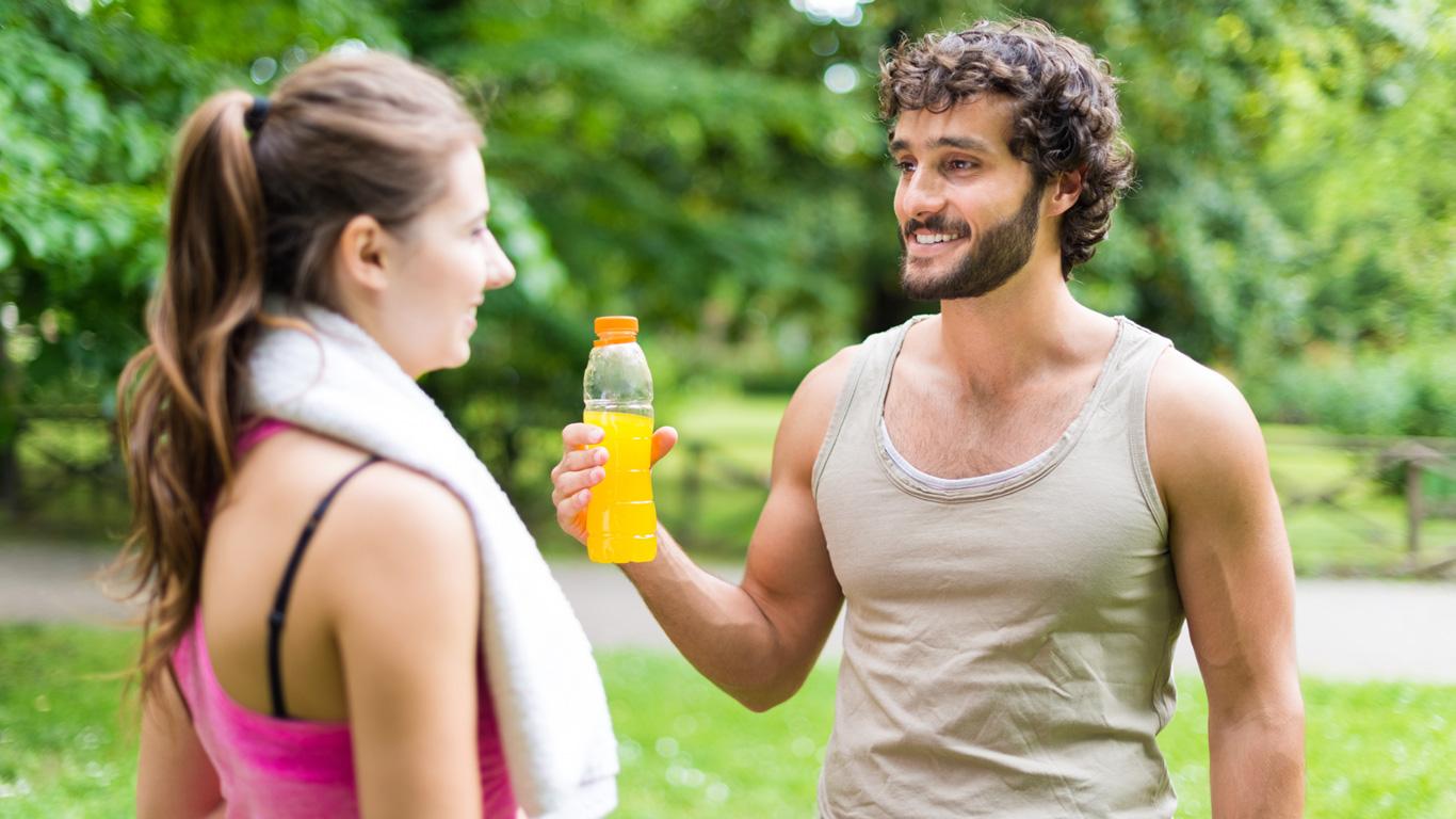 Wie gut sind isotonische Getränke beim Sport?